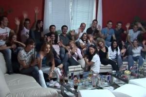 Česká amatérská swingers párty