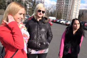 Český TakeVan – tři kamarádky