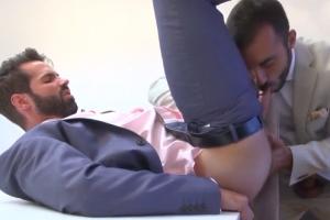 Dva kolegové v gay akci