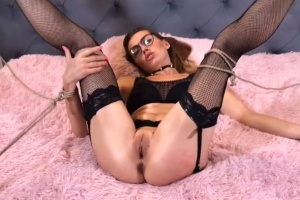 Domácí porno s luxusní holkou