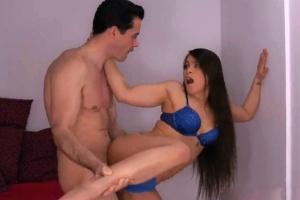 Nadržená holka chce bratrovo péro