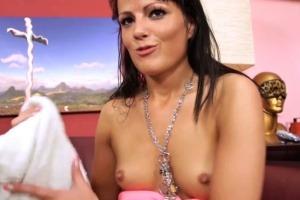Kristýna přijde na focení a zašuká si - české porno