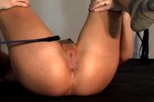 Mladá holka na BDSM castingu