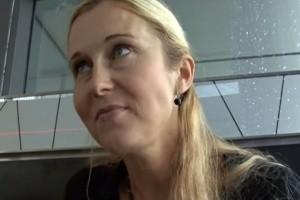 Rychlý prachy v českých ulicích 62 – zkušená blondýnka